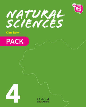 NEW THINK DO LEARN NATURAL SCIENCES 4. CLASS BOOK PACK (NATIONAL EDITION)