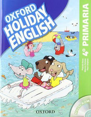(12).HOLIDAY ENGLISH 4ºPRIM (+CD)