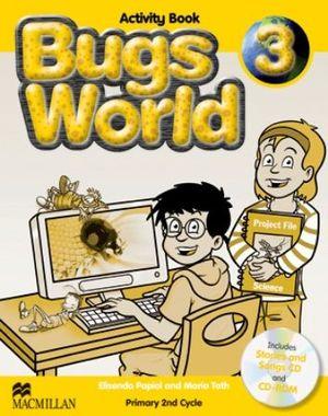 BUGS WORLD 3 ACTIVITY