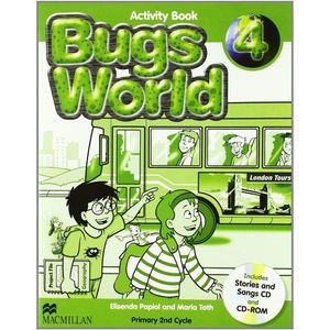 BUGS WORLD 4 ACTIVITY