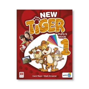 NEW TIGER 1 PUPILS BOOK