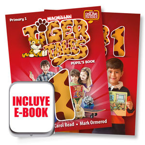 TIGER TALES 1ºPRIM.(PUPIL+EBOOK+SKILL)