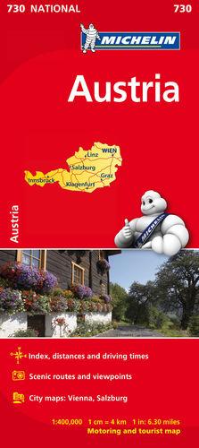 MAPA NATIONAL AUSTRIA