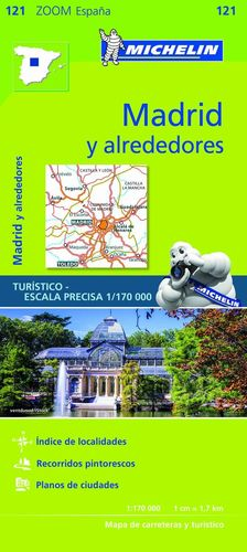 MAPA ZOOM MADRID Y ALREDEDORES