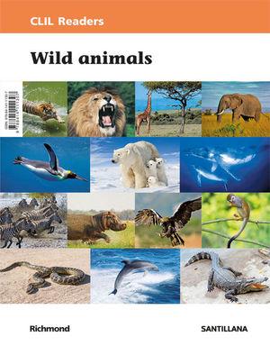 CLIL READERS NIV I WILD ANIMALS ED18