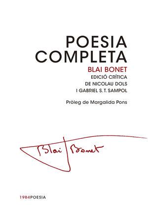 BLAI BONET POESIA COMPLETA