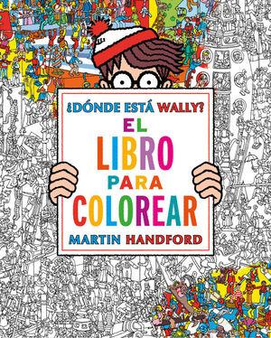 WALLY LIBRO PARA COLOREAR