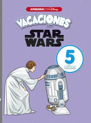 STAR WARS. CUADERNO DE VACACIONES 5 AÑOS