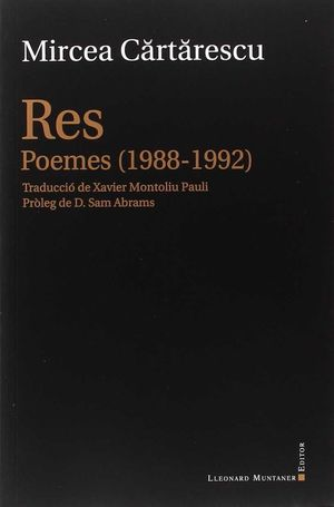 RES. POEMES (1988-1992)