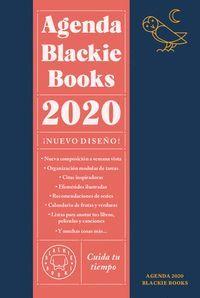AGENDA BLACKIE BOOKS CUIDA TU TIEMPO 2020