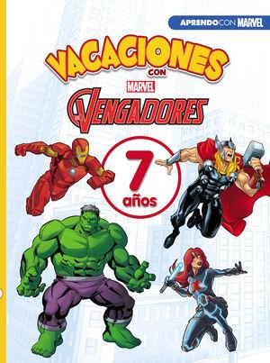 VACACIONES CON LOS VENGADORES. 7 AÑOS (APRENDO CON MARVEL)