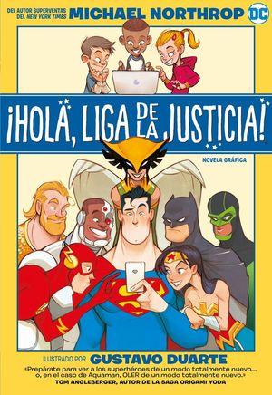 HOLA LIGA DE LA JUSTICIA
