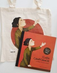 PACK CLARA CAMPOAMOR BOLSA + LIBRO