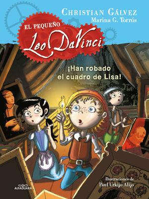 EL PEQUEÑO LEO DAVINCI 2. ¡HAN ROBADO EL