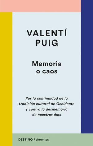 MEMORIA O CAOS