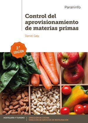CONTROL DEL APROVISIONAMIENTO DE MATERIAS PRIMAS 2.ª EDICIÓN