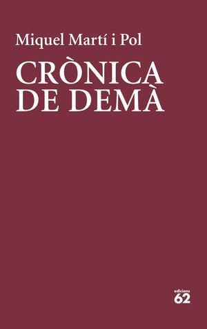 CRÒNICA DE DEMÀ