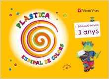 ESPIRAL DE COLORS P-3, PLÀSTICA, 1 EDUCACIÓ INFANTIL (BALEARES)