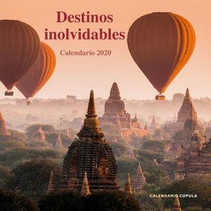 CALENDARIO DESTINOS INOLVIDABLES 2020