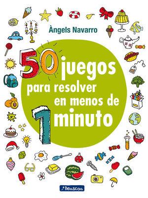 50 JUEGOS PARA RESOLVER EN MENOS DE 1 MINUTOS