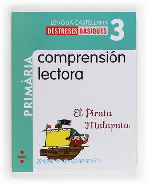 COMPRENSIÓN LECTORA: EL PIRATA MALAPATA. 3 PRIMÀRIA