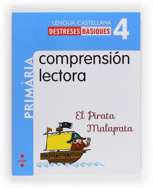 COMPRENSIÓN LECTORA: EL PIRATA MALAPATA. 4 PRIMÀRIA