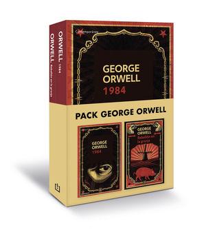 PACK GEORGE ORWELL (CONTIENE: 1984  REBELION EN LA GRANJA)