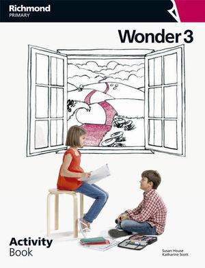 ANGLÈS WONDER 3 ACTIVITY