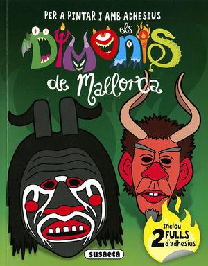 DIMONIS DE MALLORCA 1         PER A PINTAR I AMB A