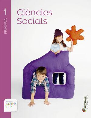 C. SOCIALS PROJECTE SABER FER 1º PRIMARIA