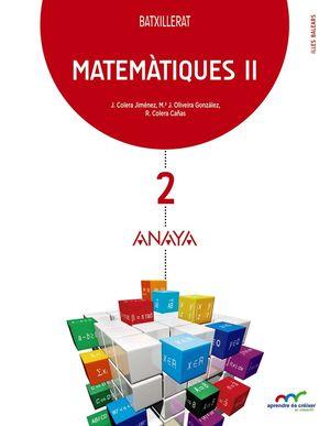 MATEMATIQUES 2 BATXILLERAT