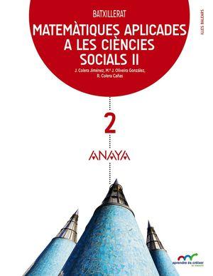 MATEMÀTIQUES APLICADES A LES CC SOCIALS II BATXILLERAT