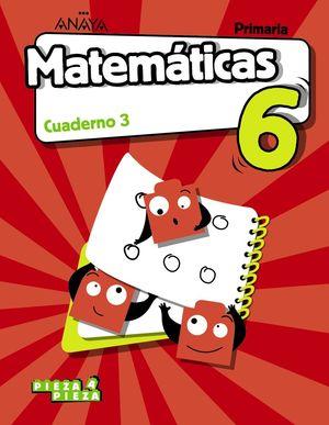 MATEMÁTICAS 6. CUADERNO 3.