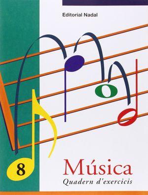 QUADERN DE MUSICA 8 NADAL