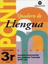 (P.FIX) QUADERN DE LLENGUA 3 EP NADAL