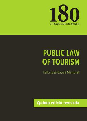 PUBLIC LAW OF TOURISM