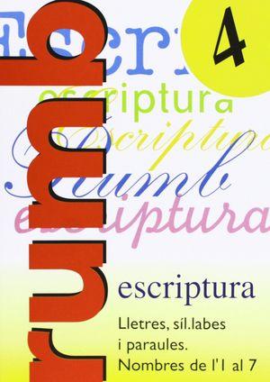 RUMB 4 ESCRIPTURA