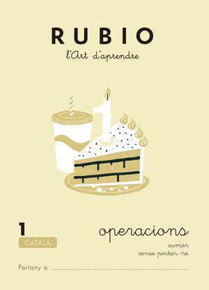 RUBIO, L'ART D'APRENDRE. OPERACIONS 1