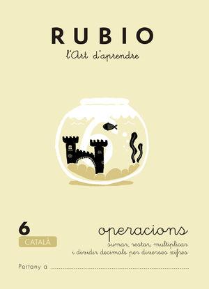 RUBIO, L'ART D'APRENDRE. OPERACIONS 6