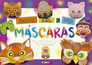 MASCARAS       (RECORTA,DOBLA