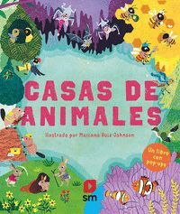 CASAS DE ANIMALES.UN LIBRO EN POP UP