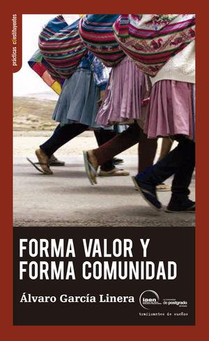 FORMA VALOR Y FORMA COMUNIDAD