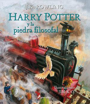 HARRY POTTER Y LA PIEDRA FILOSOFAL (CON ILUSTRACIO