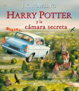 HARRY POTTER Y LA CAMARA SECRETA (CON ILUSTRACIONE