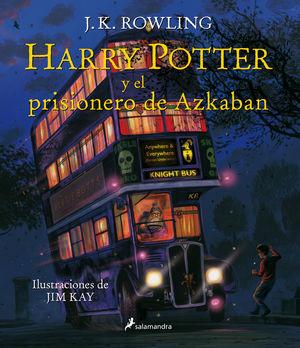 HARRY POTTER Y EL PRISIONERO DE AZKABAN (ILUSTRADO