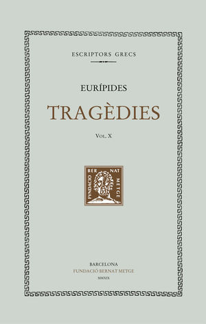 TRAGÈDIES, VOL. X