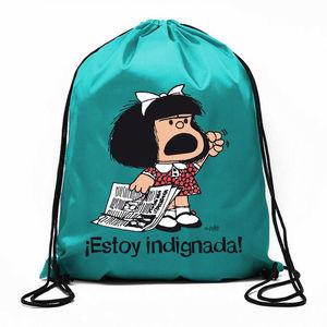 BOLSA DE CUERDAS MAFALDA ESTOY INDIGNADA!