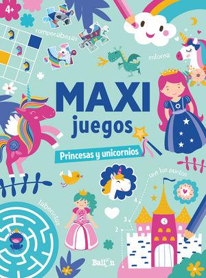 MAXI JUEGOS PRINCESAS Y UNICORNIOS